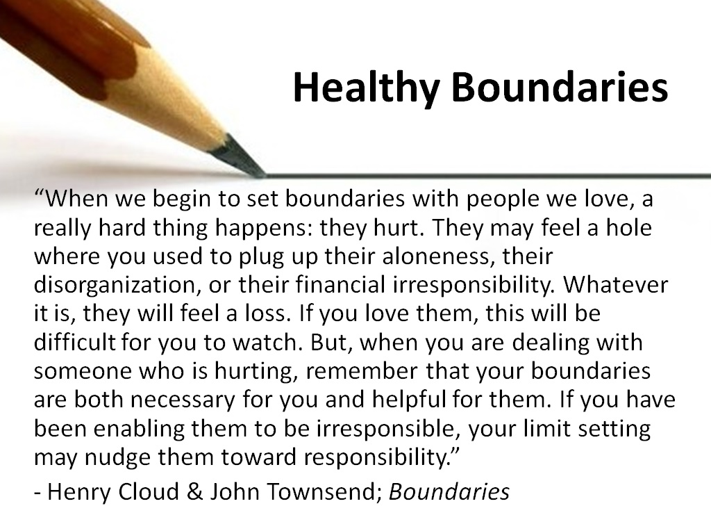 Boundaries Quote