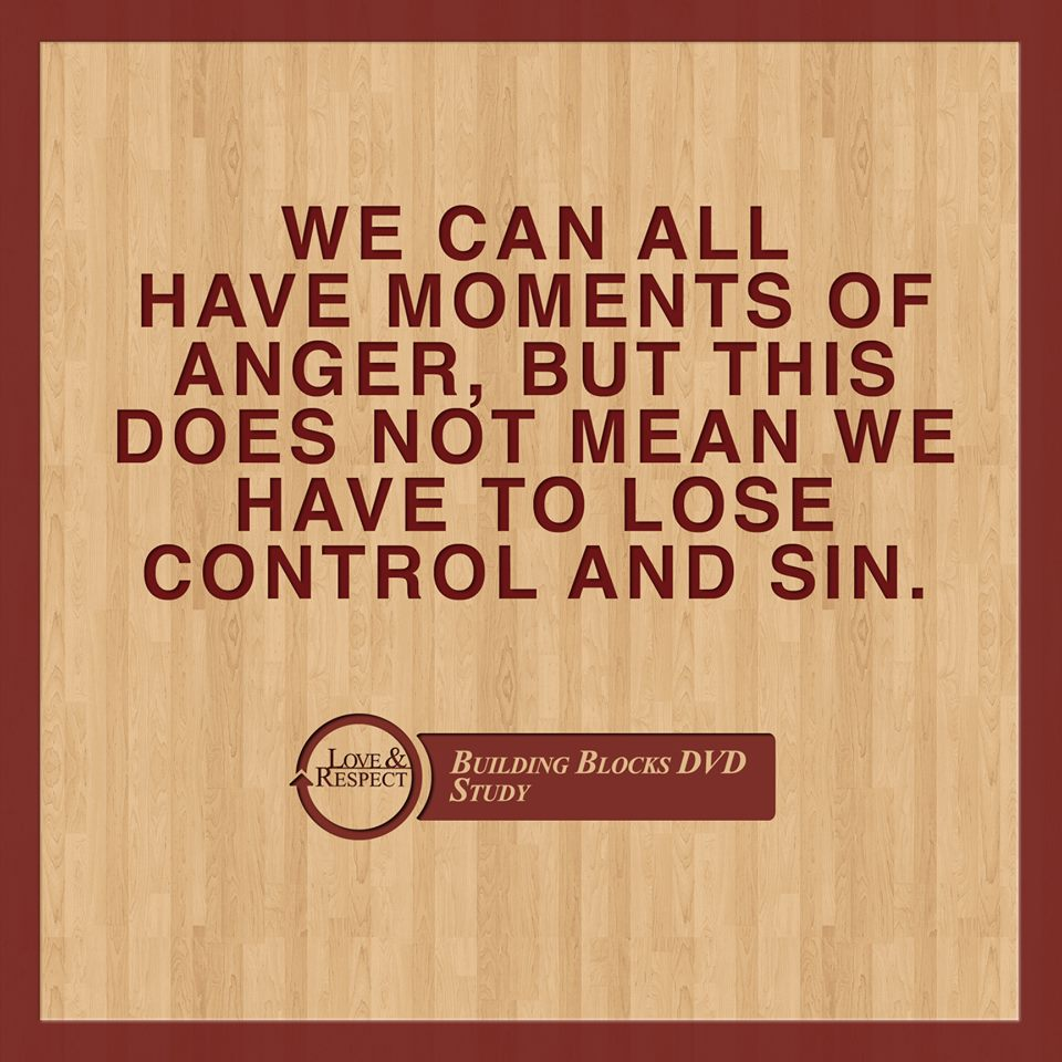 Anger and Sin