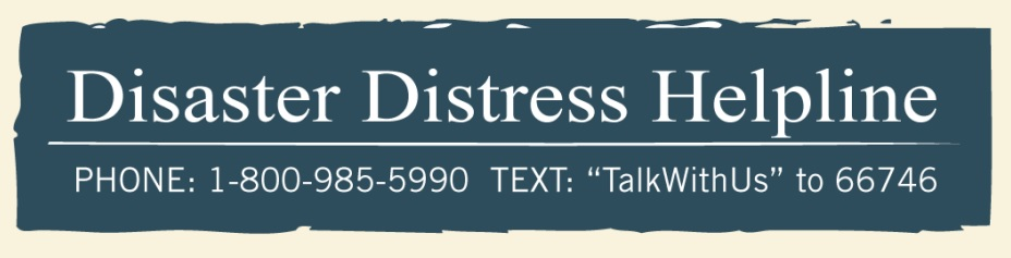 Disaster Distress Coping