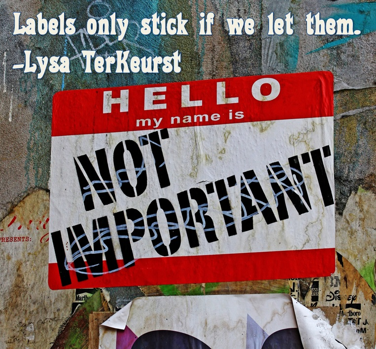 Labels Name Not Stick