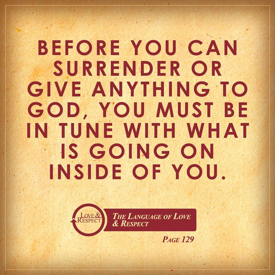 Surrender forgive