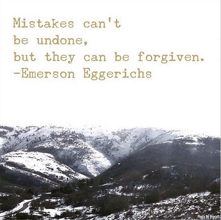 mistakes forgiven