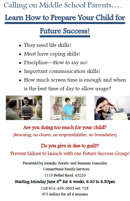 Prepare Your Child for Success Flyer
