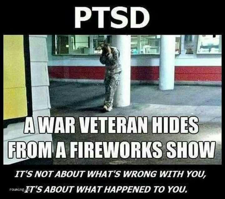 PTSD fireworks