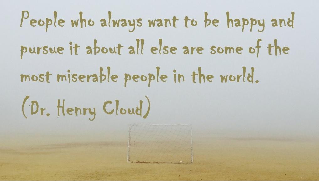 miserable happy people