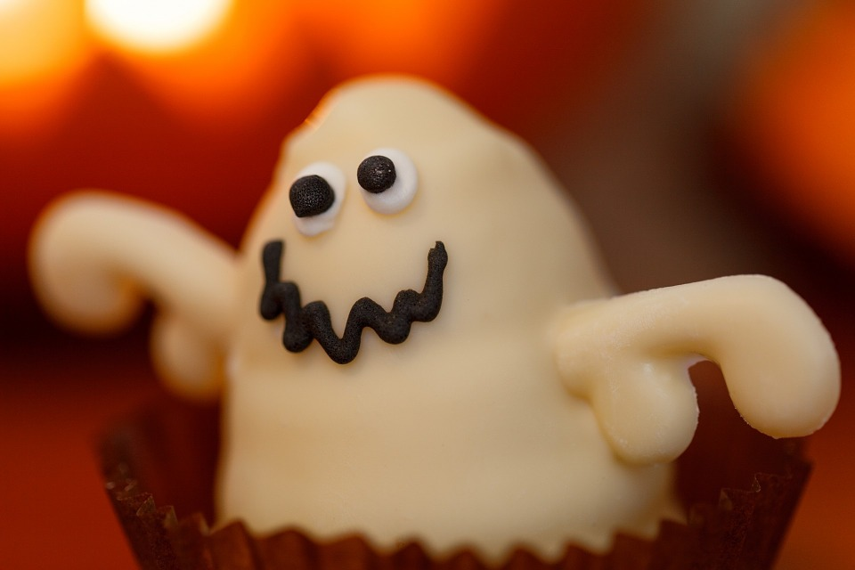 ghost dessert