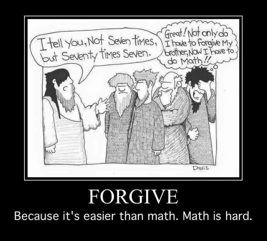 forgive humor
