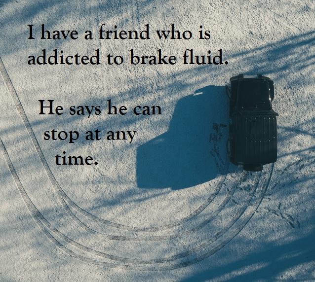 brake fluid pun