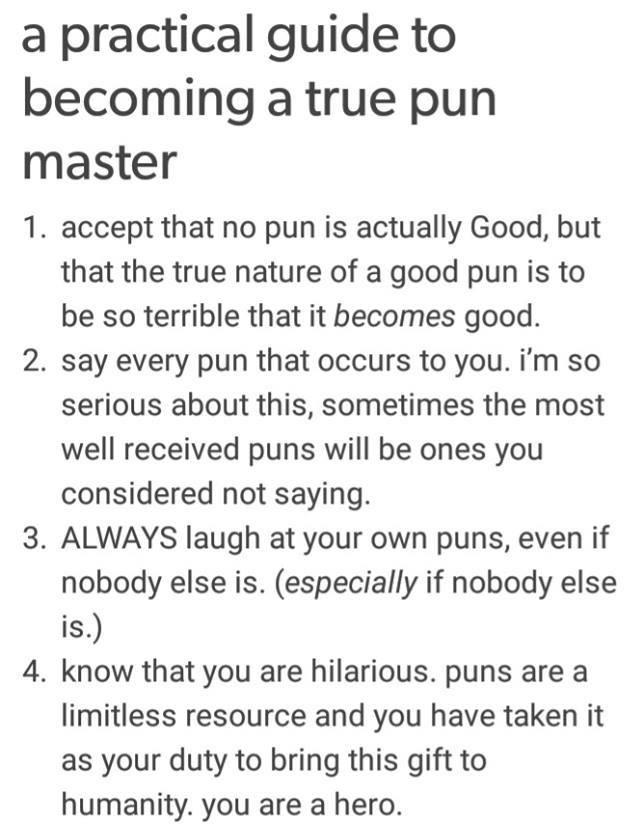 pun master