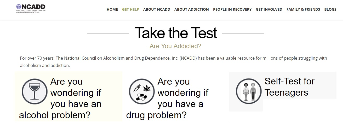 Addiction Test