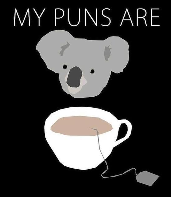pun tea