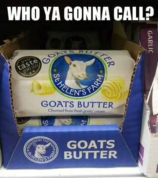 Goats Butter Humor
