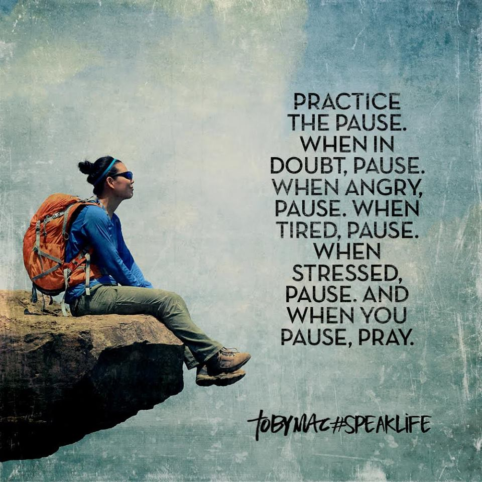 practice the pause